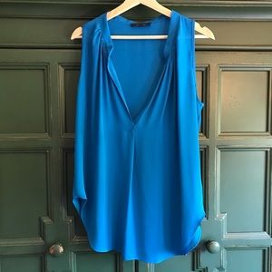 Olivaceous Teal Blouse